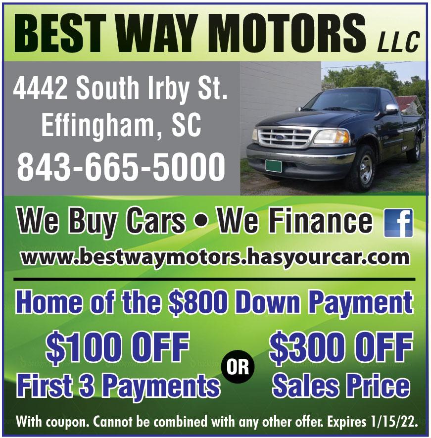 BEST WAY MOTORS LLC