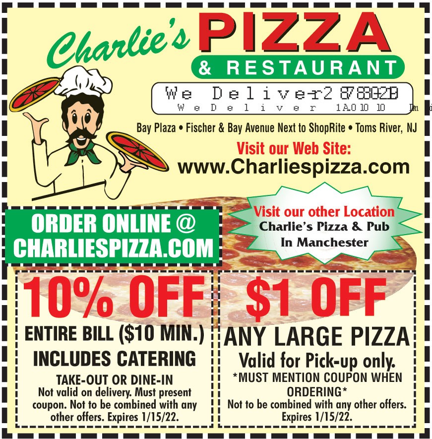 CHARLIES PIZZA