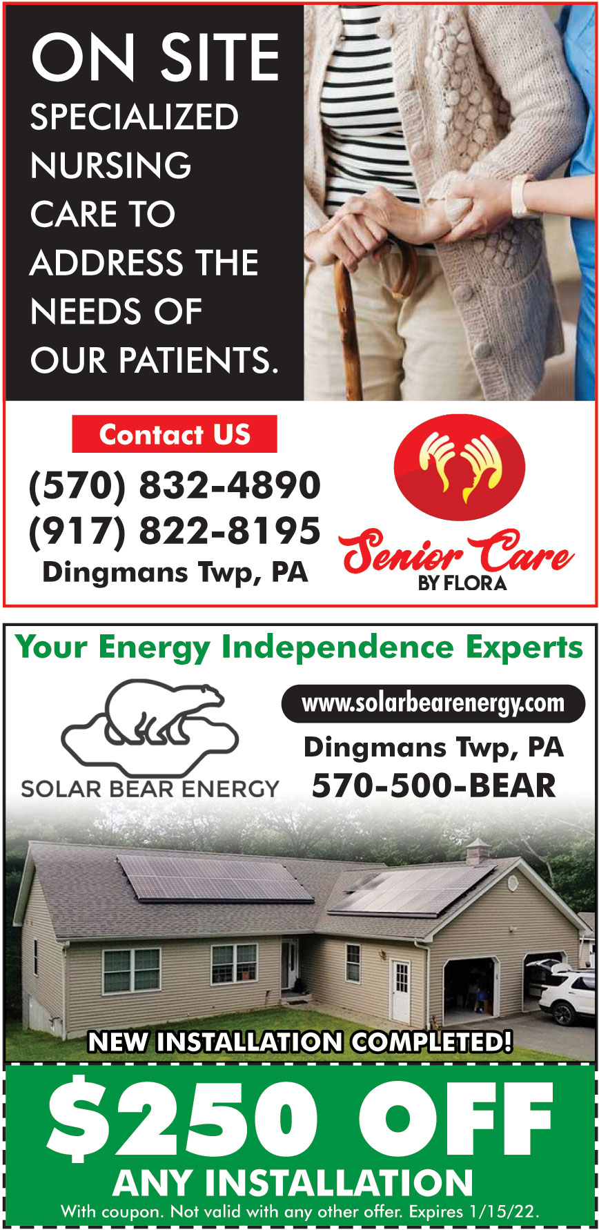 SOLAR BEAR ENERGY LLC