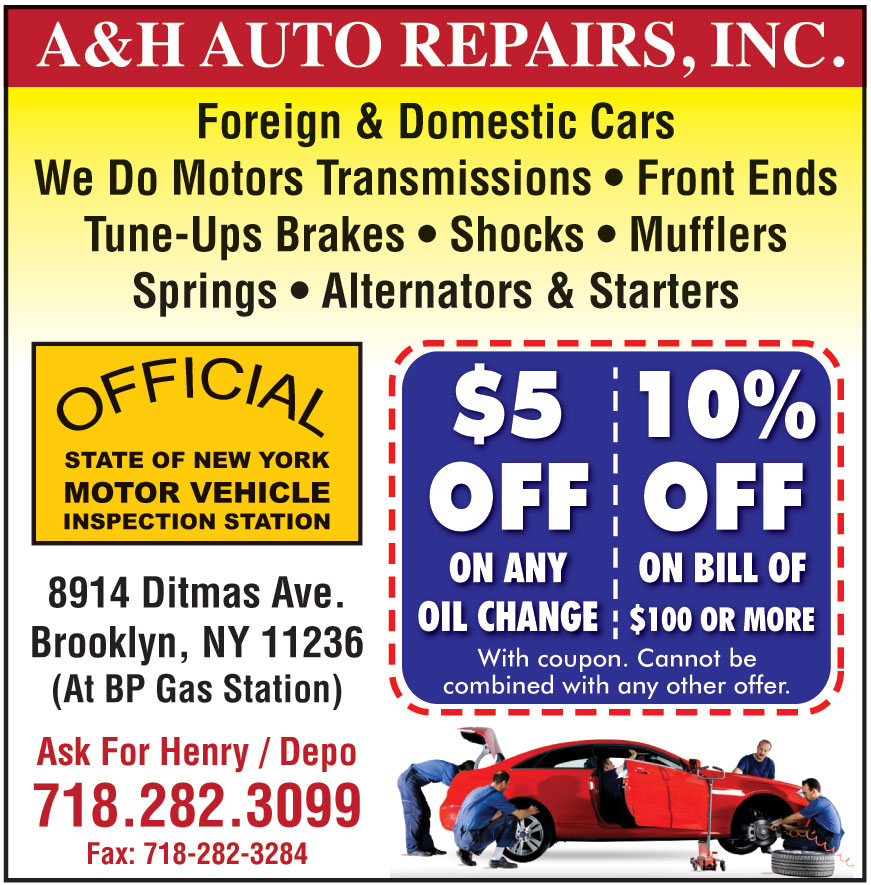 A AND H AUTO REPAIR