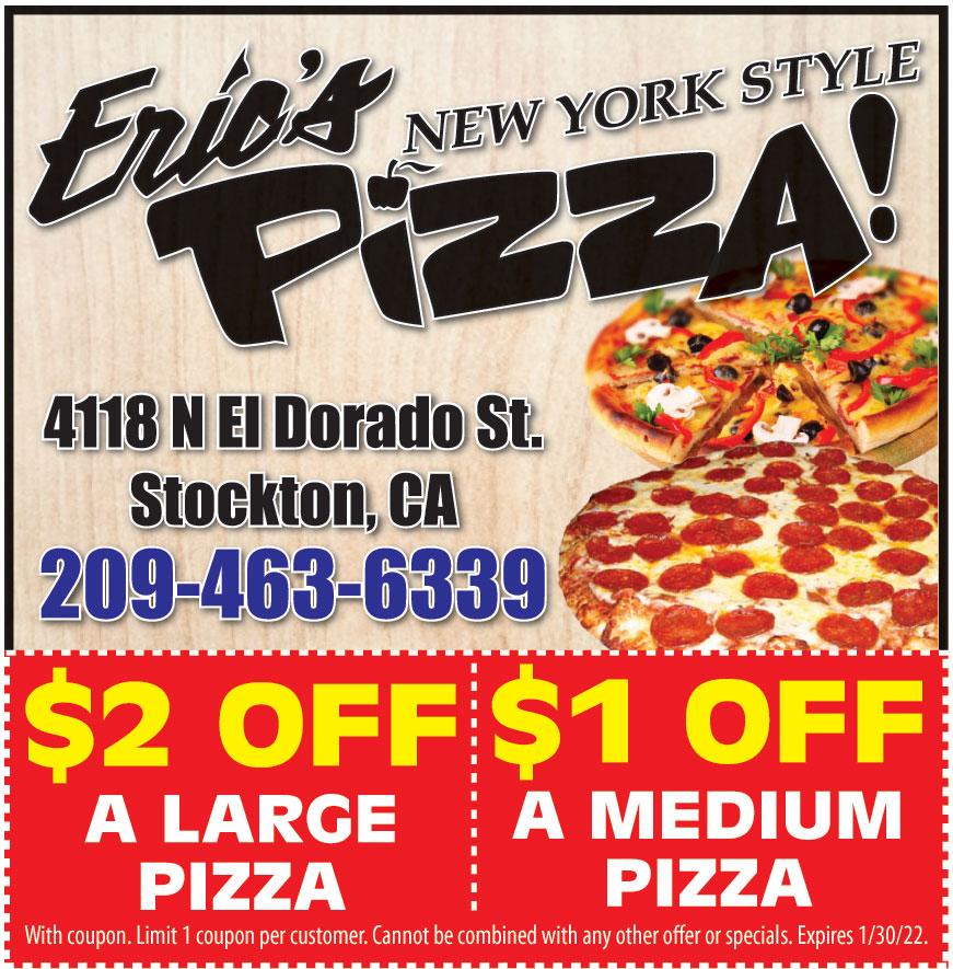 ERICS NEW YORK STYLE PIZ