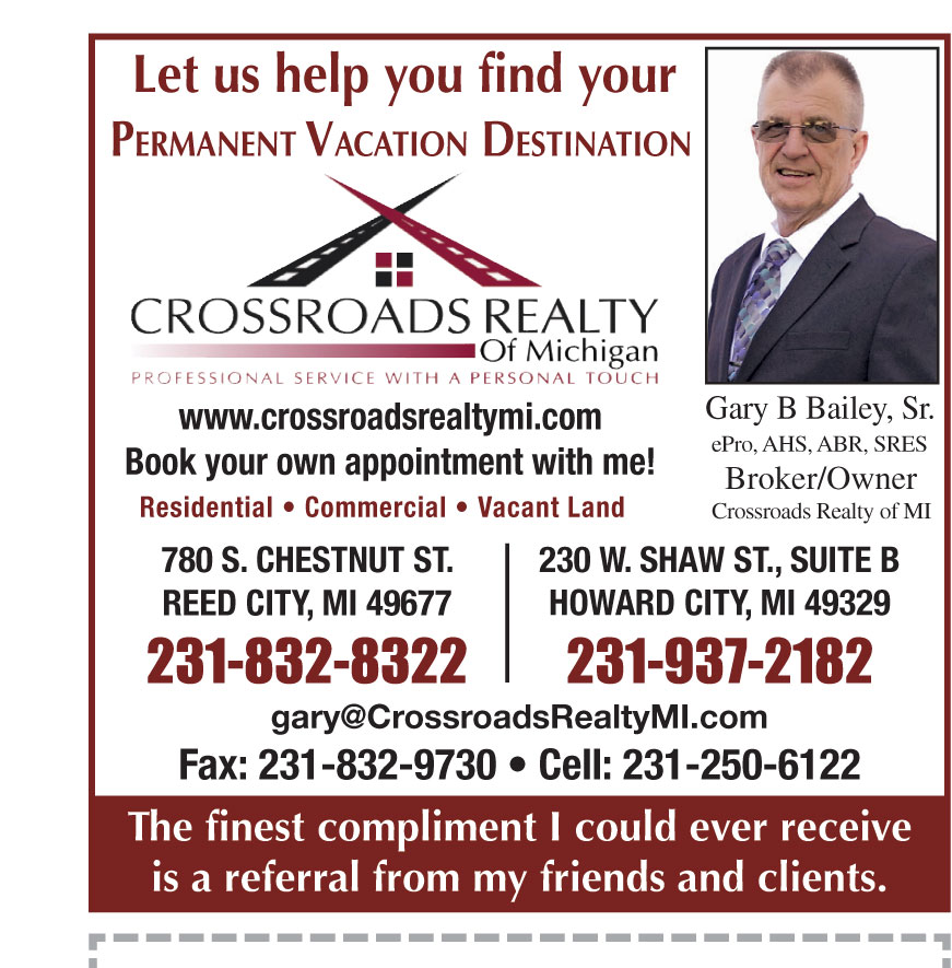 CROSSROADS REALTY OF MICH