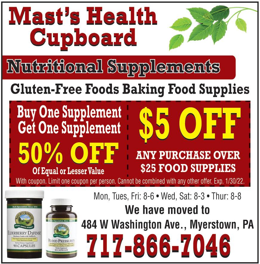 MAST BULK AND HEALTH FOOD