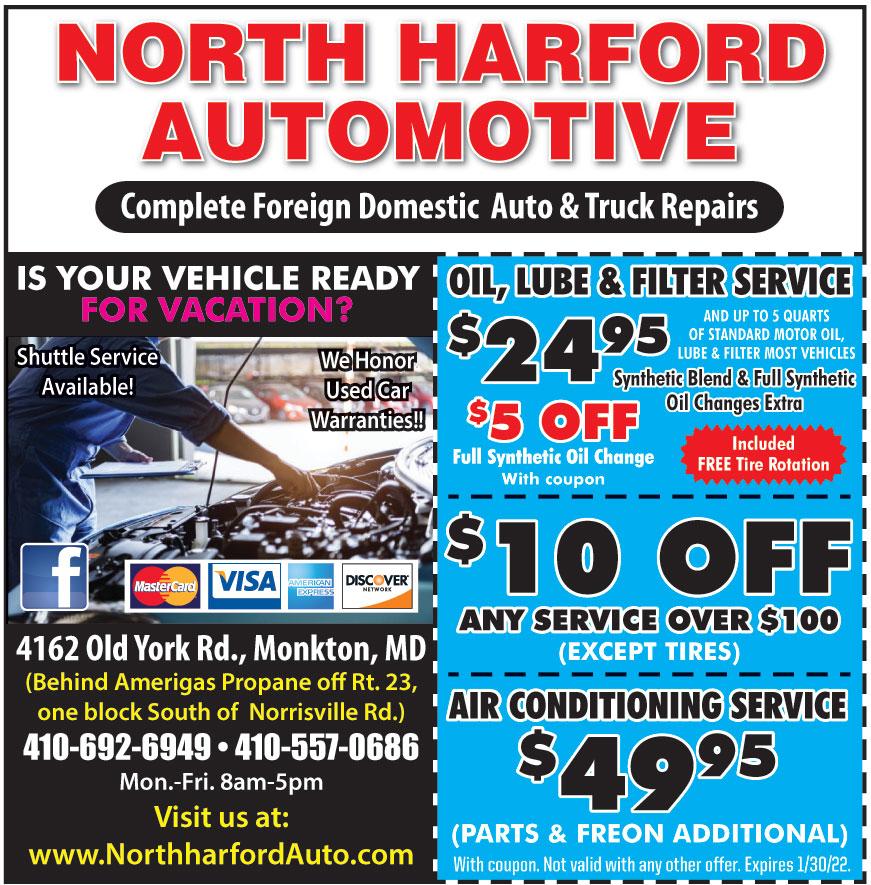 NORTH HARFORD AUTOMOTIVE