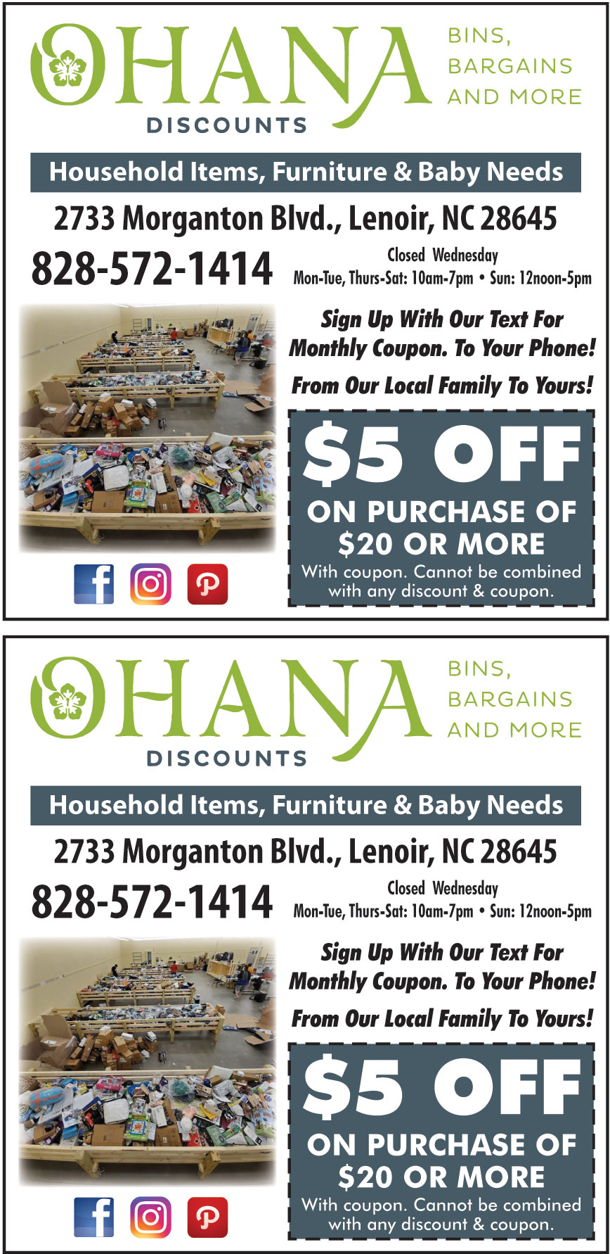 OHANA DISCOUNTS LLC