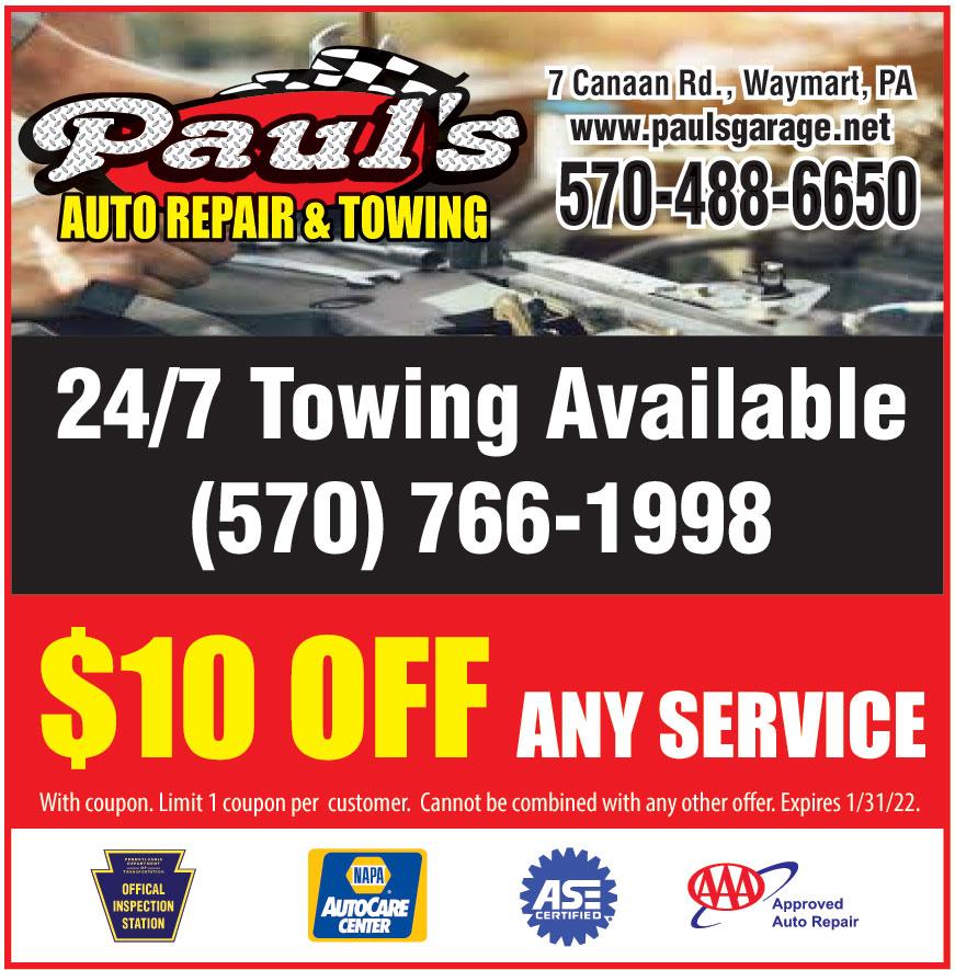 PAULS AUTO REPAIR AND