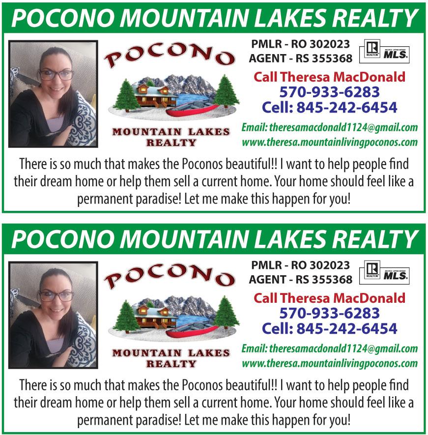 POCONO MOUNTAIN LAKES REA