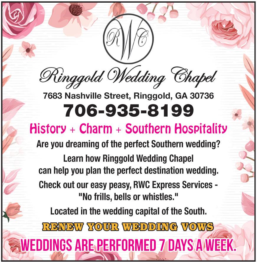RINGGOLD WEDDING CHAPEL