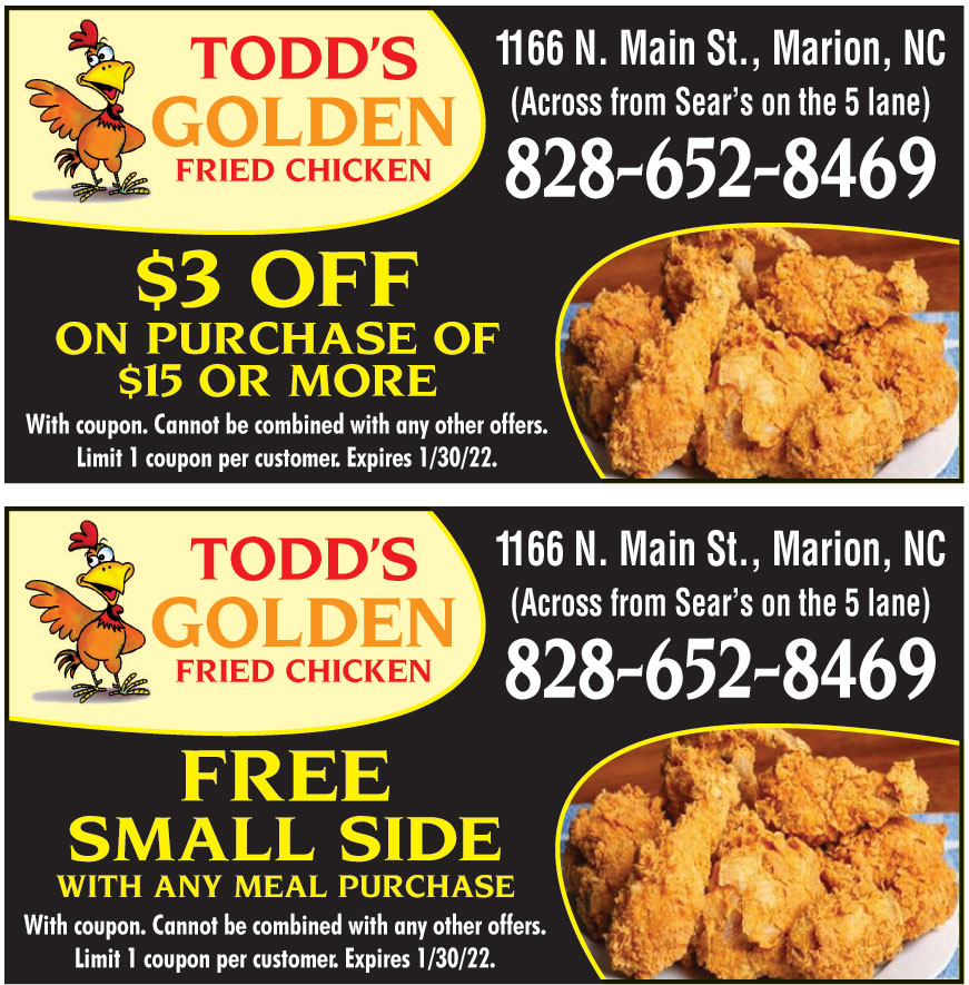 TODDS GOLDEN FRIED CHICKE