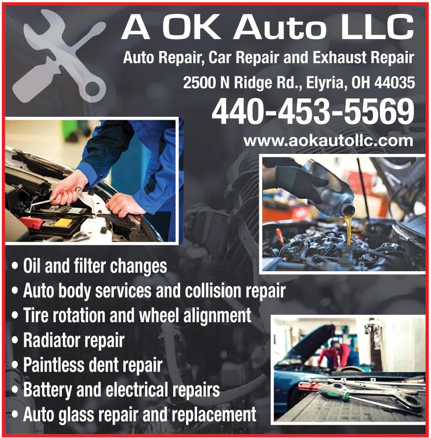 A OK AUTO AND MUFFLER LLC