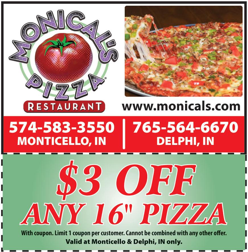 MONICALS PIZZA OF MONTICE