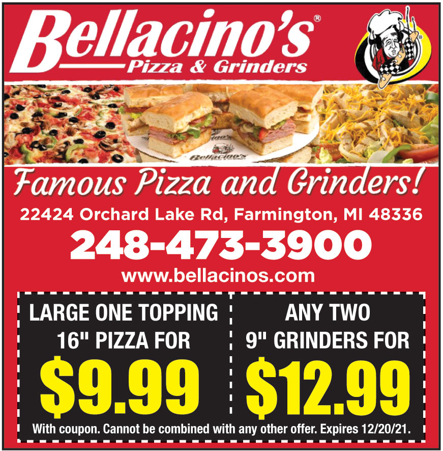 BELLACINOS PIZZA AND GRIN