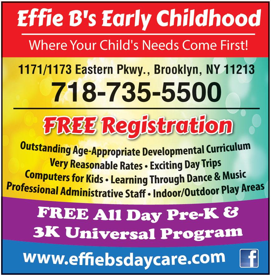 EFFIE BS EARLY CHILDHOOD