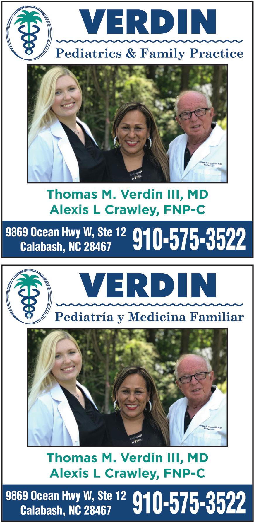 VERDIN PEDIATRICS AND FAM