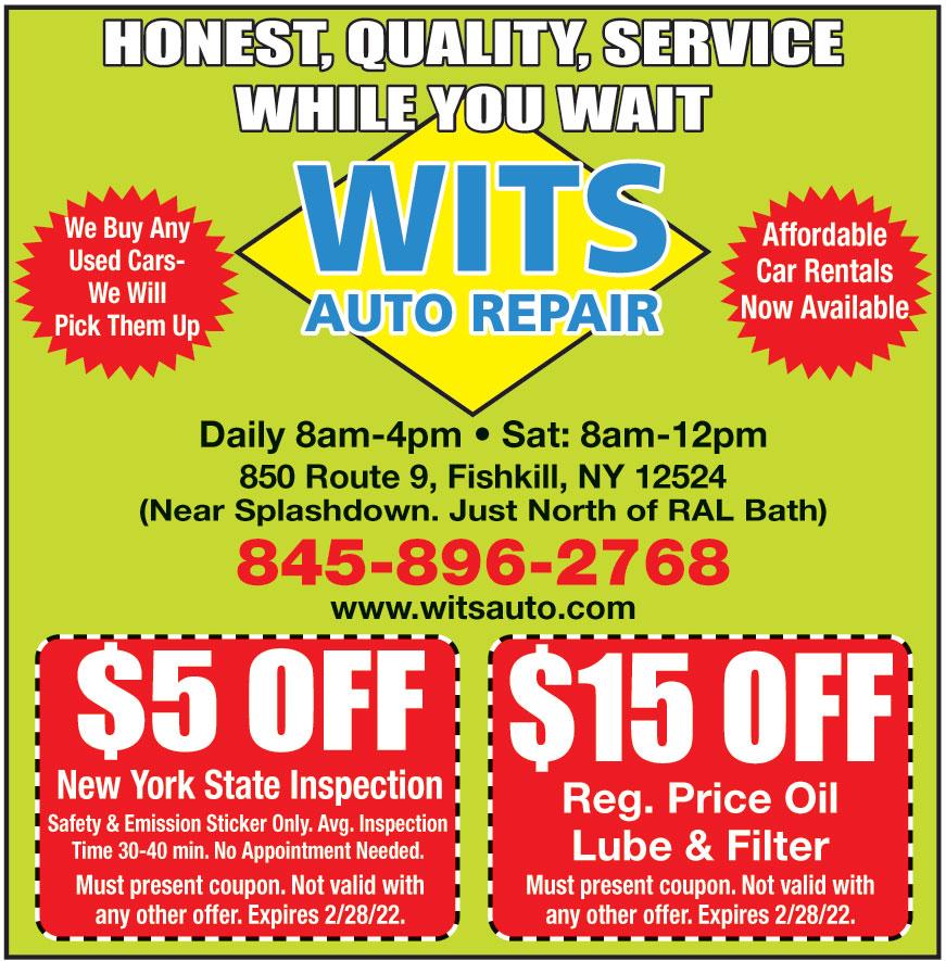 WITS AUTO REPAIR INC