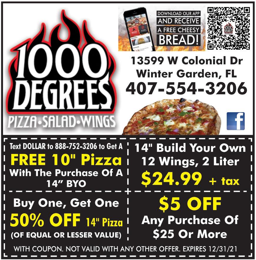 1000 DEGREES PIZZA SALAD