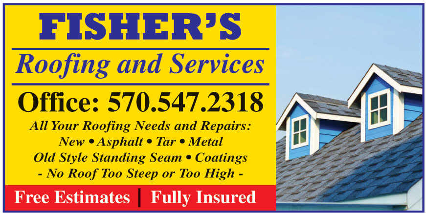 FISHERS ROOFING AND SERVI