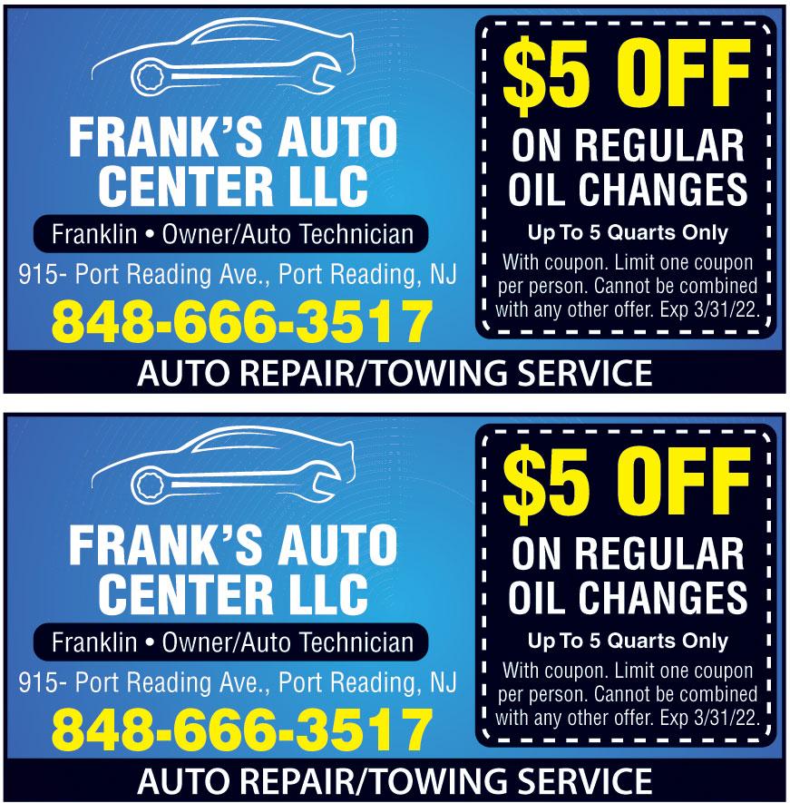 FRANKS AUTO CTR LLC