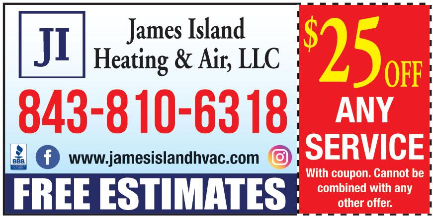 JAMES ISLAND HEATING