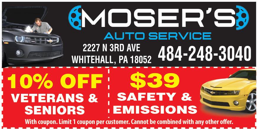 MOSERS AUTO SERVICE