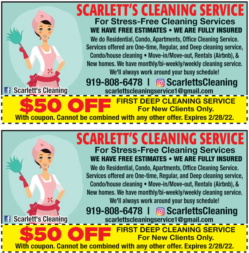 SCARTLETTS CLEANING SERVI