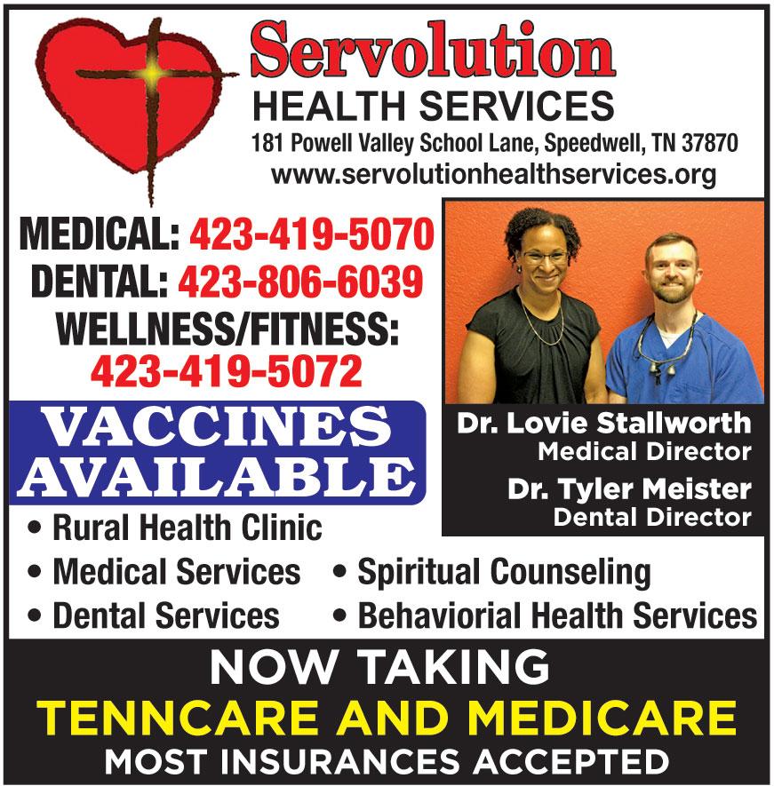 SERVOLUTION HEALTH SERVIC
