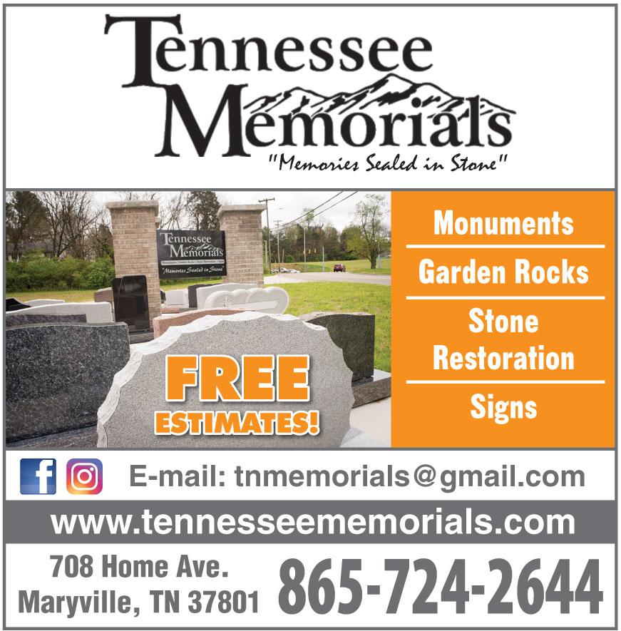 TENNESSEE MEMORIALS