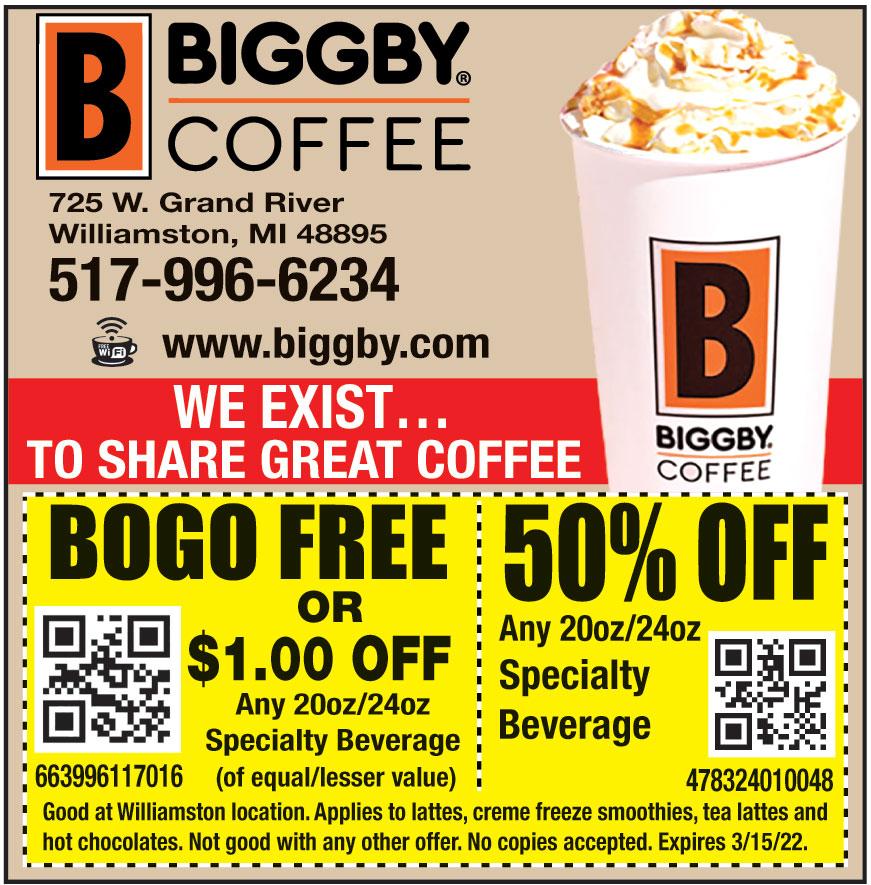 WILLIAMSTON BIGGBY COFFEE